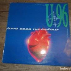 Discos de vinilo: U 96 - LOVE SEES NO COLOUR. Lote 153846982