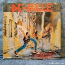 Discos de vinilo: DE-KALLE - LAS DOS CARAS DE LA MONEDA - LP SPAIN 1991 CONTIENE ENCARTE CON LETRAS VINILO NUEVO. Lote 153852182