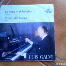 Discos de vinilo: DISCO DE LUIS CALVE PIANISTA ,TEMAS , DANZA DEL FUEGO ,Y LA MAJA Y EL RUISEÑOR. Lote 153858010