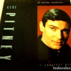 Discos de vinilo: GENE PITNEY (LP ALEMÁN) (RAREZA) THE ORIGINAL RECORDINGS - 20 GREATEST HITS EXITOS 1961-73. Lote 153858038