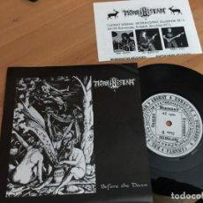 Vinyl-Schallplatten - MORNINGSTAR (BEFORE THE DAWN) SINGLE GERMANY (EPI14) - 153872694