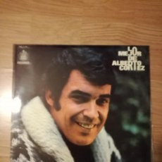 Discos de vinilo: LO MEJOR DE ALBERTO CORTEZ. Lote 153874886