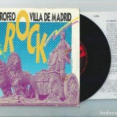 Discos de vinilo: LUZBEL SINGLE VILLA DE MADRID,SPANISH HEAVY 1988-FURIA ANIMAL-YIN YANG (COMPRA MINIMA 15 EUROS) . Lote 153881010