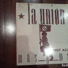 Discos de vinilo: LA UNION-MAS Y MAS HOT ACID.MAXI. Lote 153882178