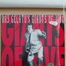 Discos de vinilo: MUSICA LP - RAY GELATO'S GIANTS OF JIVE - 1989 BLUE HORIZON BLUH 006. Lote 153894218