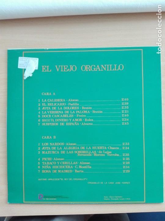 Discos de vinilo: MUSICA LP - EL VIEJO ORGANILLO - 1982 SERDISCO - Foto 2 - 153894502