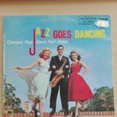 Discos de vinilo: MUSICA LP - JAZZ GOES DANCING - CAMPUS HOP DAVE PELL OCTET - 1983 RCA NL-45631. Lote 153896202