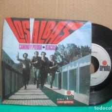 Discos de vinilo: LOS ALBAS - CAMINO Y PIEDRA / ATACALO - ARIOLA 1970 SINGLE PEPETO. Lote 153896902
