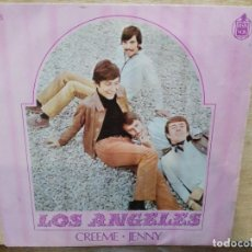Discos de vinilo: LOA ÁNGELES - CREEME, JENNY - SINGLE DEL SELLO HISPAVOX 1968 . Lote 153922002