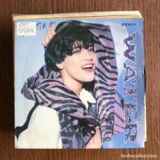 Discos de vinilo: MARTIKA - WATER / SIENTO TEMBLA LA TIERRA - SINGLE CBS 1990 . Lote 153922322