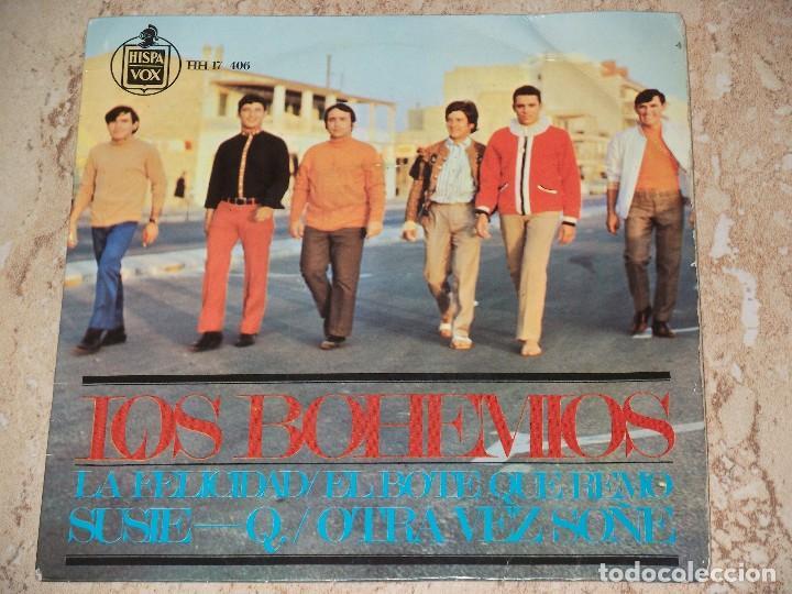 LOS BOHEMIOS // LA FELICIDAD / EL BOTE QUE REMO / SUSIE-Q / OTRA VEZ SOÑE / 1967 (Música - Discos de Vinilo - EPs - Grupos Españoles 50 y 60)