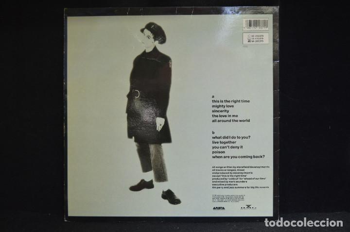 Discos de vinilo: LISA STANSFIELD - AFFECTION - LP - Foto 2 - 153928706