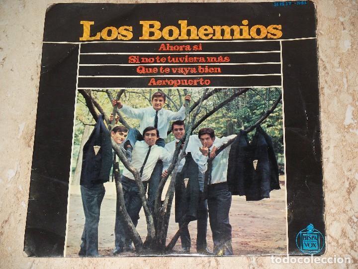 LOS BOHEMIOS / AHORA SI / SI NO TE TUVIERA MAS / QUE TE VAYA BIEN / AEROPUERTO BEAT GARAGE MOD-1965 (Música - Discos de Vinilo - EPs - Grupos Españoles 50 y 60)