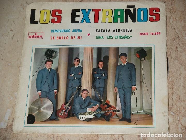 LOS EXTRAÑOS - SE BURLO DE MI+3- PSYCH GARAGE -1964 (Música - Discos de Vinilo - EPs - Grupos Españoles 50 y 60)