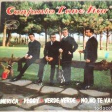 Discos de vinilo: LONE STAR / AMERICA / VERDE VERDE / PEGGY / NO NO TE VAYAS / 1964,. Lote 153931922