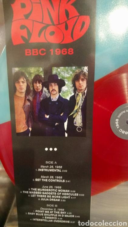 Discos de vinilo: Pink Floyd BBC 1968 - LP vinilo con efecto de fluidos psicodelicos - Edición limitada - Nuevo - - Foto 2 - 175543710