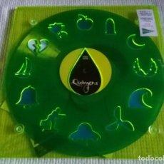 Discos de vinilo: GERMAN COPPINI - '' QUIMERA '' LP 200GR. AZUL + ENCARTE + CD PLEXIGLAS VERDE SEALED. Lote 153939122