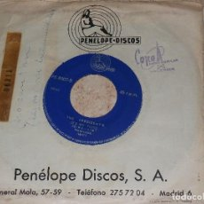 Discos de vinilo: THE PRESIDENT'S - MISSION IMPOSSIBLE / IT´S MY THING / PENELOPE DISCOS 1969 - PROMOCIONAL. Lote 153940958