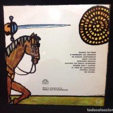 Discos de vinilo: LP CANCIONERO DEL FRENTE DE JUVENTUDES, COROS Y ORQUESTA DE LA CADENA AZUL DE RADIODIFUSION. Lote 153945962