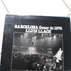Discos de vinilo: VINILO LLUIS LLACH. Lote 153950960