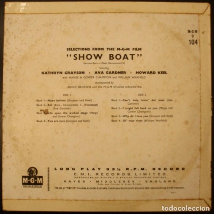 Discos de vinilo: SHOWBOAT-MAGNOLIA LP DE 10 PULGADAS - Foto 3 - 153955750