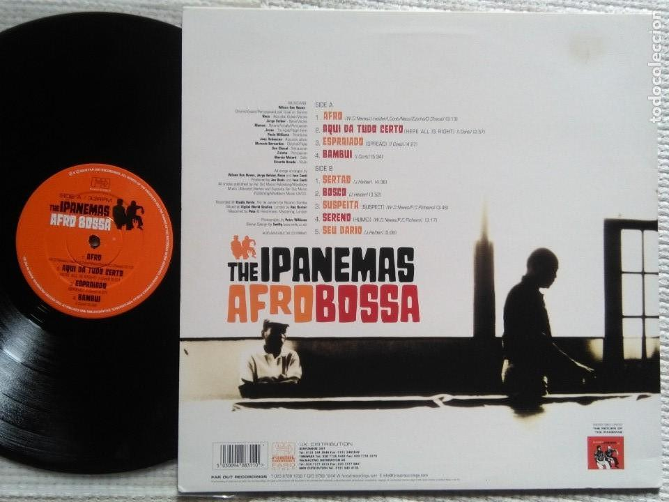 Discos de vinilo: THE IPANEMAS - AFRO BOSSA LP UK 2003 - Foto 2 - 51057175
