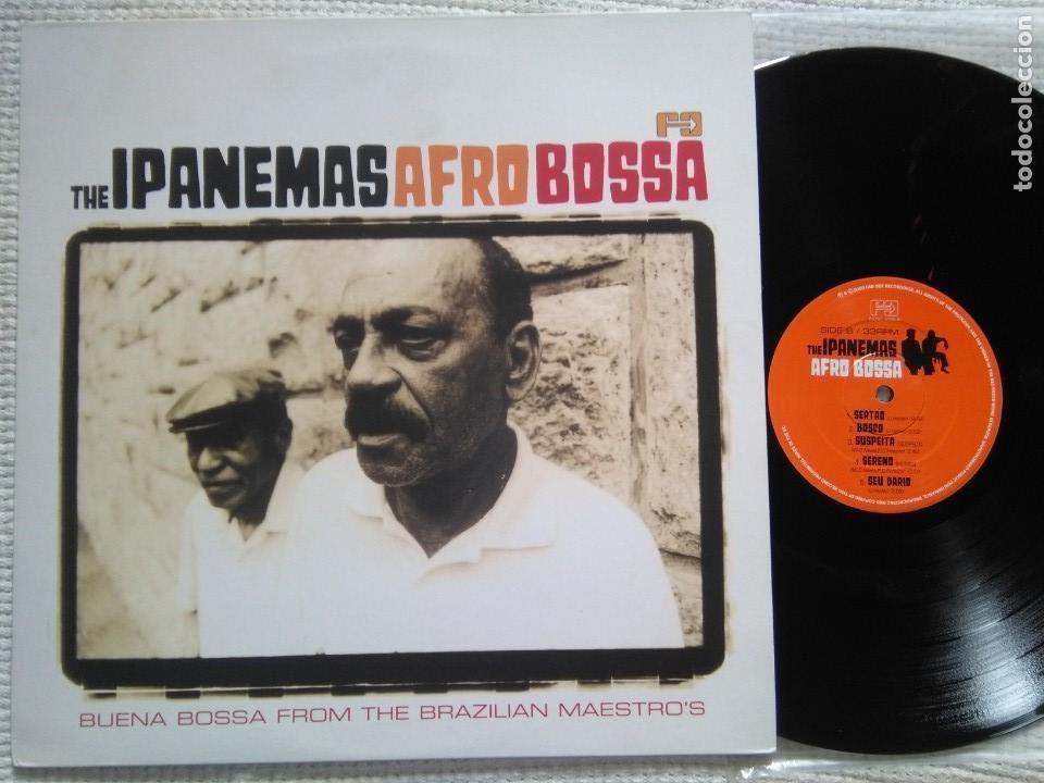 THE IPANEMAS - '' AFRO BOSSA '' LP UK 2003 (Música - Discos - LP Vinilo - Étnicas y Músicas del Mundo)
