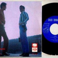 Discos de vinilo: DÚO DINÁMICO - LINA / TÚ / UN DÍA LLEGARÁ / A MÓNICA - EP 1967 - LA VOZ DE SU AMO. Lote 153961246