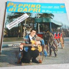 Discos de vinilo: PEPPINO DI CAPRI, EP, LET´S TWIST AGAIN + 3, AÑO 19?? MADE IN FRANCE. Lote 153961666