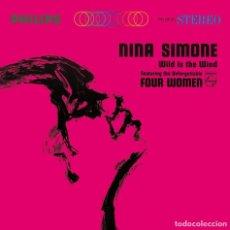 Discos de vinilo: LP NINA SIMONE WILD IS THE WIND VINILO + MP3 SOUL JAZZ. Lote 153983526