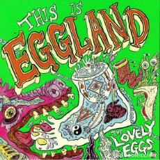 Discos de vinilo: LP THE LOVELY EGGS – THIS IS EGGLAND. Lote 153984234