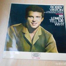 Discos de vinilo: BOBBY VINTON CANTA EN ESPAÑOL, EP, MR. LONELY + 3, AÑO 1965. Lote 153985506