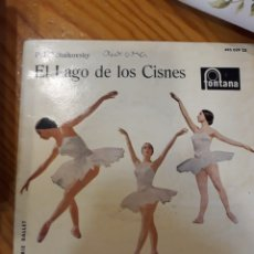 Discos de vinilo: SINGLE DE EL LAGO DE LIS CISNES. Lote 153987450
