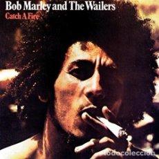 Discos de vinilo: LP BOB MARLEY AND THE WAILERS CATCH A FIRE REGGAE VINILO 180G + MP3 DOWNLOAD. Lote 153987922