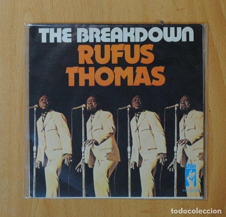Rufus thomas - the breakdown - single - Sold through Direct Sale - 153988041
