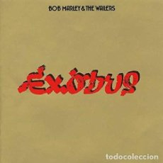 Discos de vinilo: LP BOB MARLEY AND THE WAILERS EXODUS REGGAE VINILO 180G + MP3 DOWNLOAD . Lote 153992494