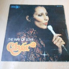 Dischi in vinile: CHER, SG, THE WAY OF LOVE + 1, AÑO 1972. Lote 153992570
