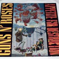 Discos de vinilo: LP GUNS N´ ROSES - APPETITE FOR DESTRUCTION. Lote 153992654