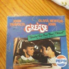 Discos de vinilo: SINGLE GREASE. Lote 153996618