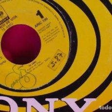 Discos de vinilo: FRANCO DE VITA -- TE AMO / TE AMO, PROMOCIONAL CBS SONY 1993.. Lote 153997762