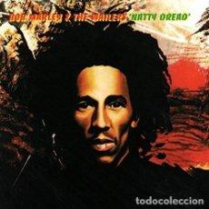 Discos de vinilo: LP BOB MARLEY AND THE WAILERS NATTY DREAD REGGAE VINILO 180G + MP3 DOWNLOAD . Lote 153997858