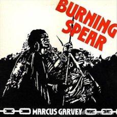 Discos de vinilo: LP BURNING SPEAR MARCUS GARVEY REGGAE VINILO 180G + MP3 DOWNLOAD. Lote 228320870