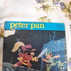 Discos de vinilo: SINGLE CUENTO PETER PAN. Lote 153999004