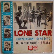 Discos de vinilo: LONE STAR - COMPRENSION + 3 TEMAS LA VOZ DE SU AMO - 1965. Lote 153999206