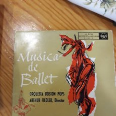 Discos de vinilo: SINGLE MUSICA DE BALLET. Lote 154004341