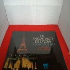 Discos de vinilo: UN AMERICANO EN PARÍS RHAPSODY IN BLUE GEORGE GERSHWIN. Lote 154004992