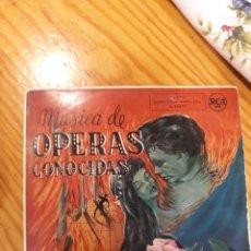 Discos de vinilo: SINGLE OPERAS CONOCIDAS. Lote 154005810
