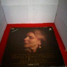 Discos de vinilo: MARÍA DOLORES PRADERA ÁLBUM DE ORO CONTIENE CUATRO LP. Lote 154008100
