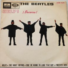 Discos de vinilo: THE BEATLES - HELP + 3 TEMAS ODEON - 1965. Lote 154009874