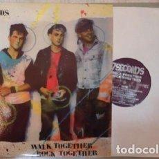 Discos de vinilo: LP 7 SECONDS - WALK TOGETHER, ROCK ROGETHER. Lote 154010238